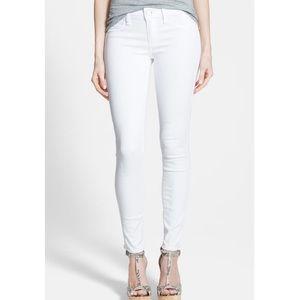 PAIGE Verdugo Ankle Jean in Ivory Keys